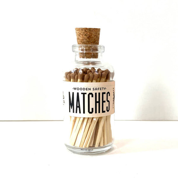 Vintage Apothecary Matches Small Jar from Made Market Co.