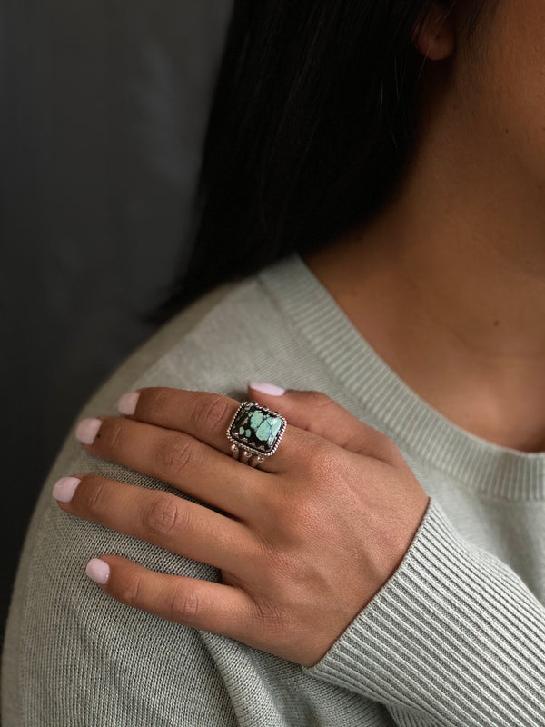 Traditional Turquoise Ring | 050