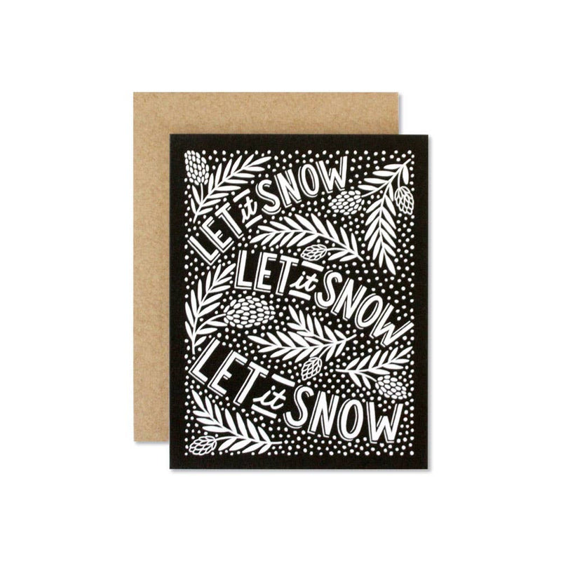 Let It Snow Card from Wild Hart Paper