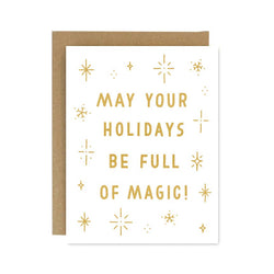 Holiday Magic Card from Worthwhile Paper