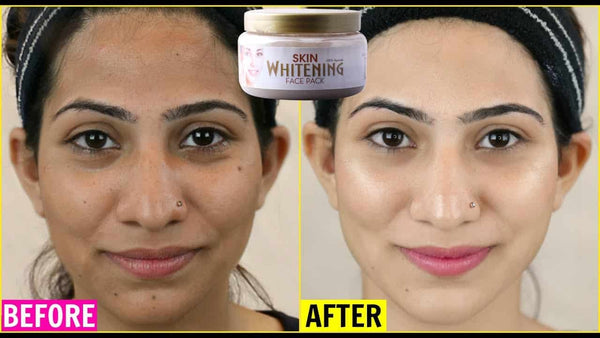 S-GLOW Skin Whitening Face Pack