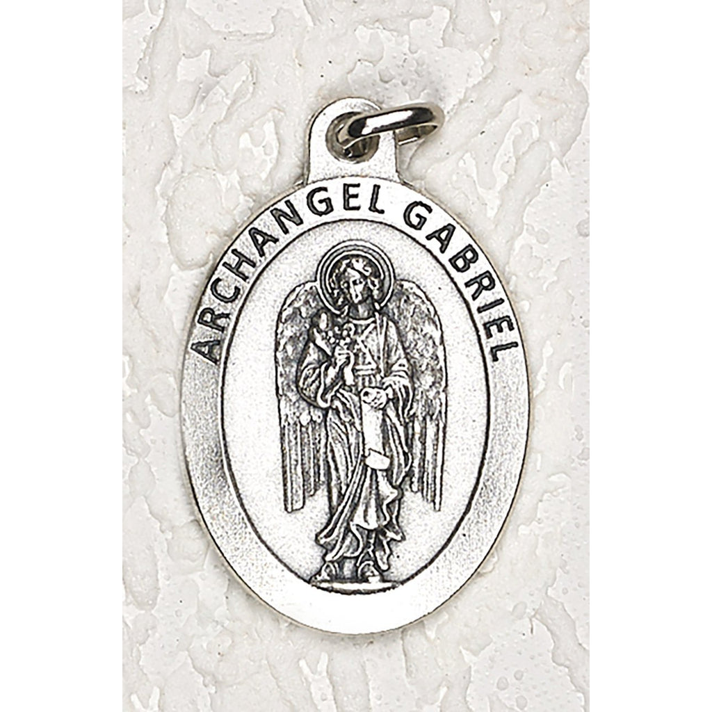 Archangel Gabriel Double Sided Medal - 1-1/2 Inch - 4 Options