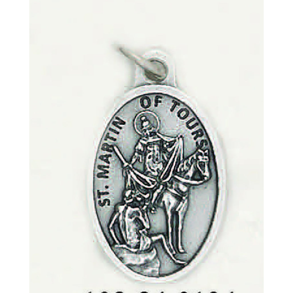 Saint Martin of Tours Pray for Us Medal - 4 Options