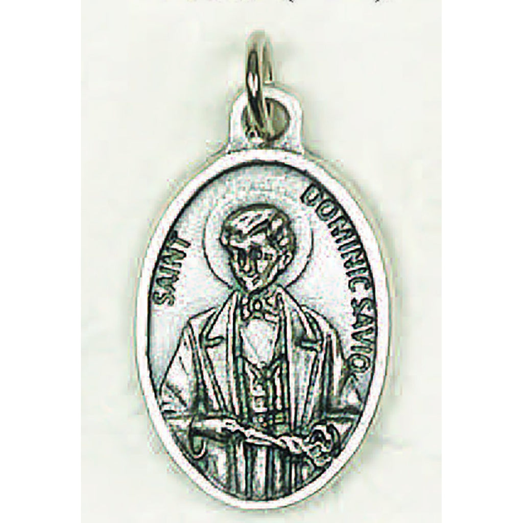 Saint Dominic Savio Pray for Us Medal - 4 Options