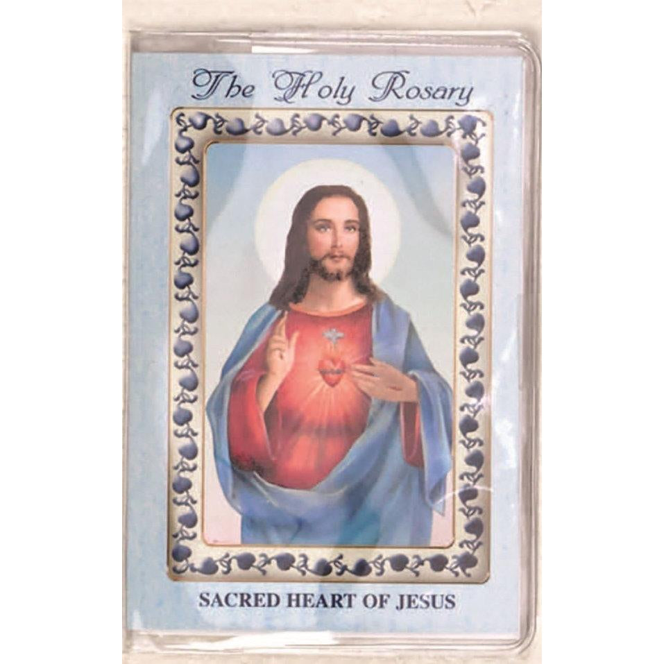 Sacred Heart of Jesus - How to Pray the Rosary Booklet