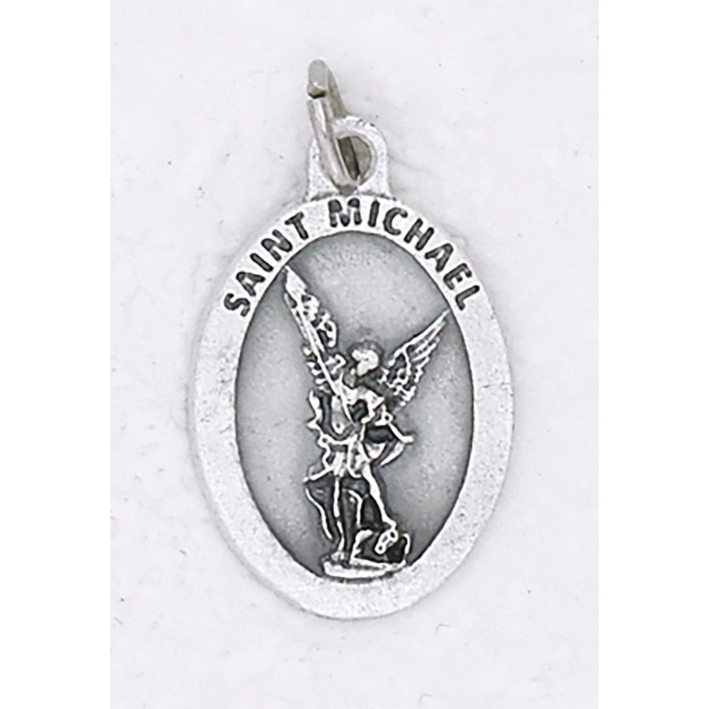 Saint Michael Premium 1 Inch Glow in the Dark Medal - 4 Options