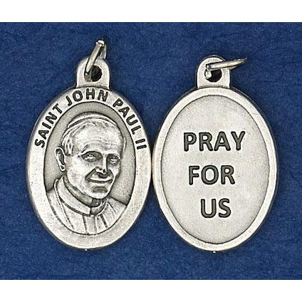 St. John Paul II Pray for Us Medals - 4 Options