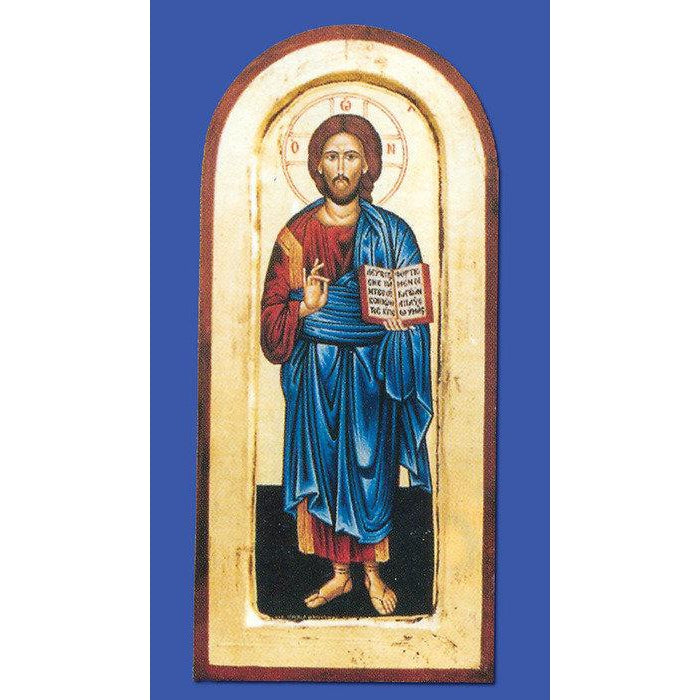 Pantocrator (Christ the Teacher)  - Arched Gold Leaf