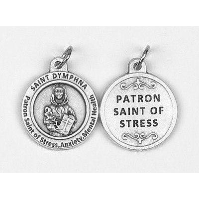 Healing Saint - St Dymphna Medal - 4 Options