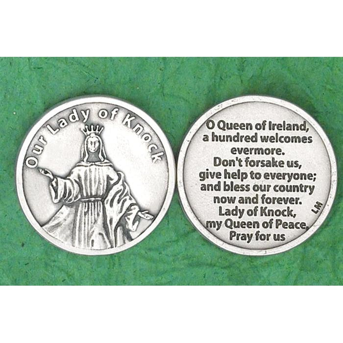 Irish token - Lady of Knock - Pack of 25