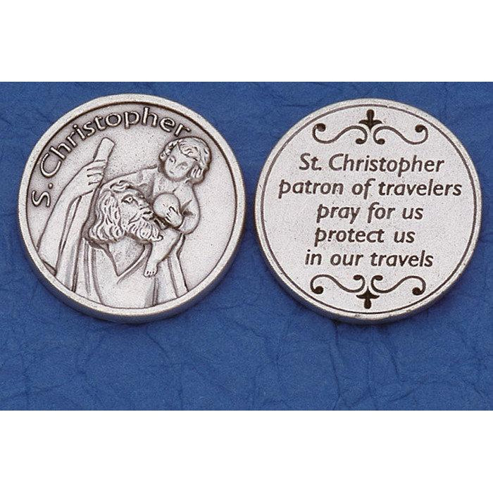 Italian Token - St Christopher