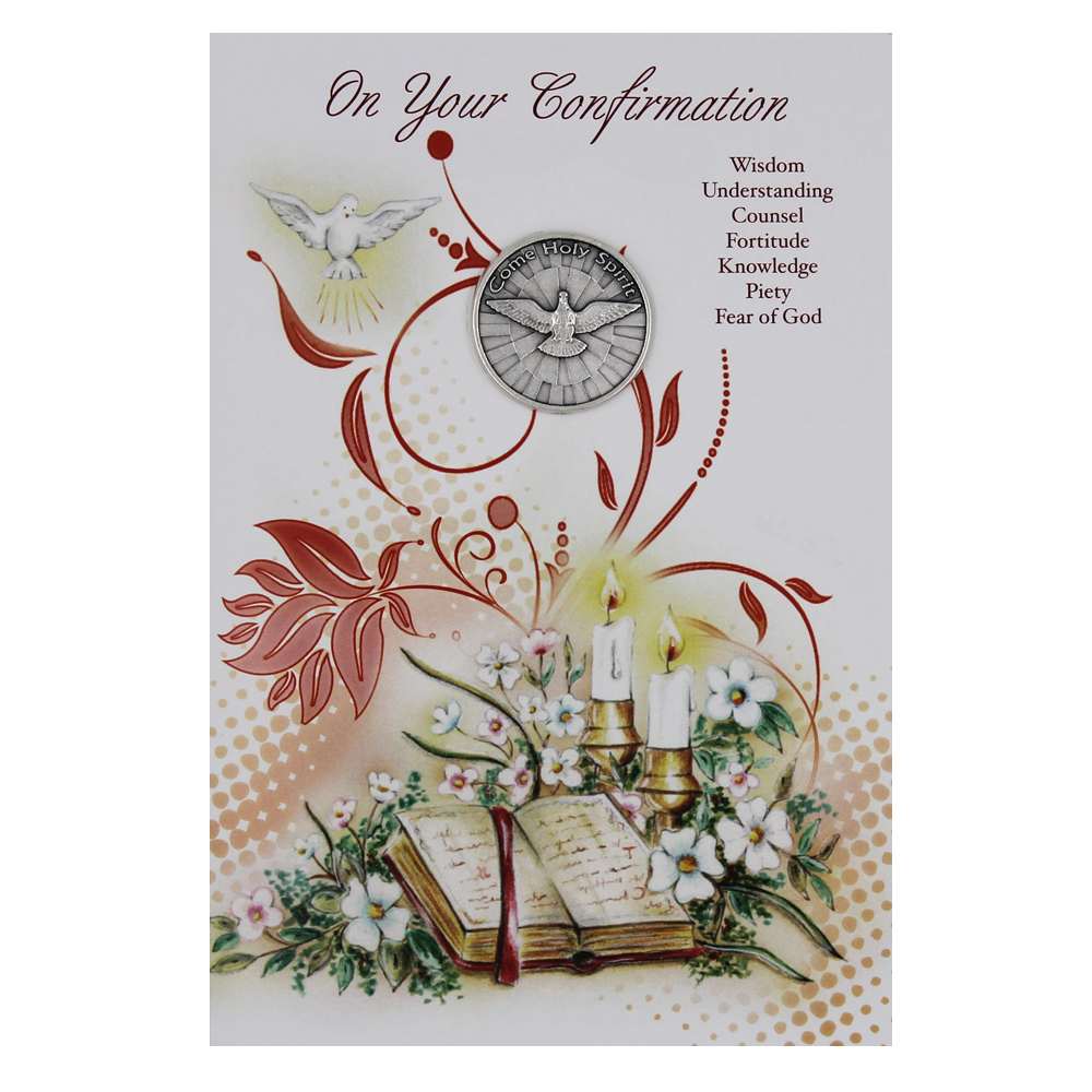 Confirmation Card with Token - Pack of 6