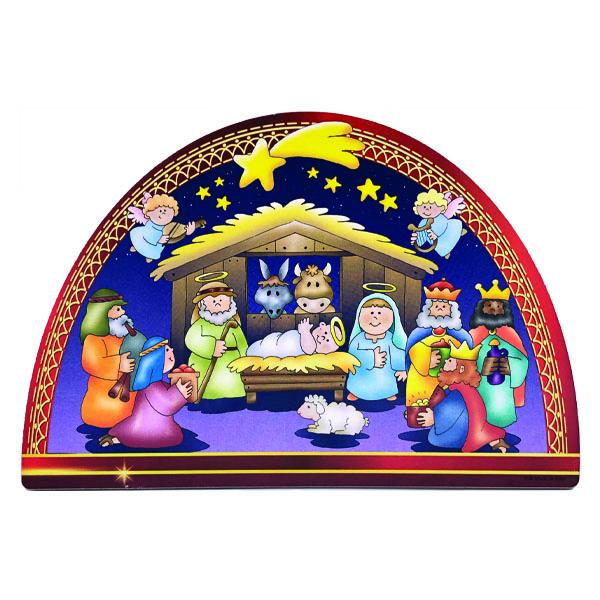 Nativity Scene Blue Angels -  CHRISTMAS IN JULY