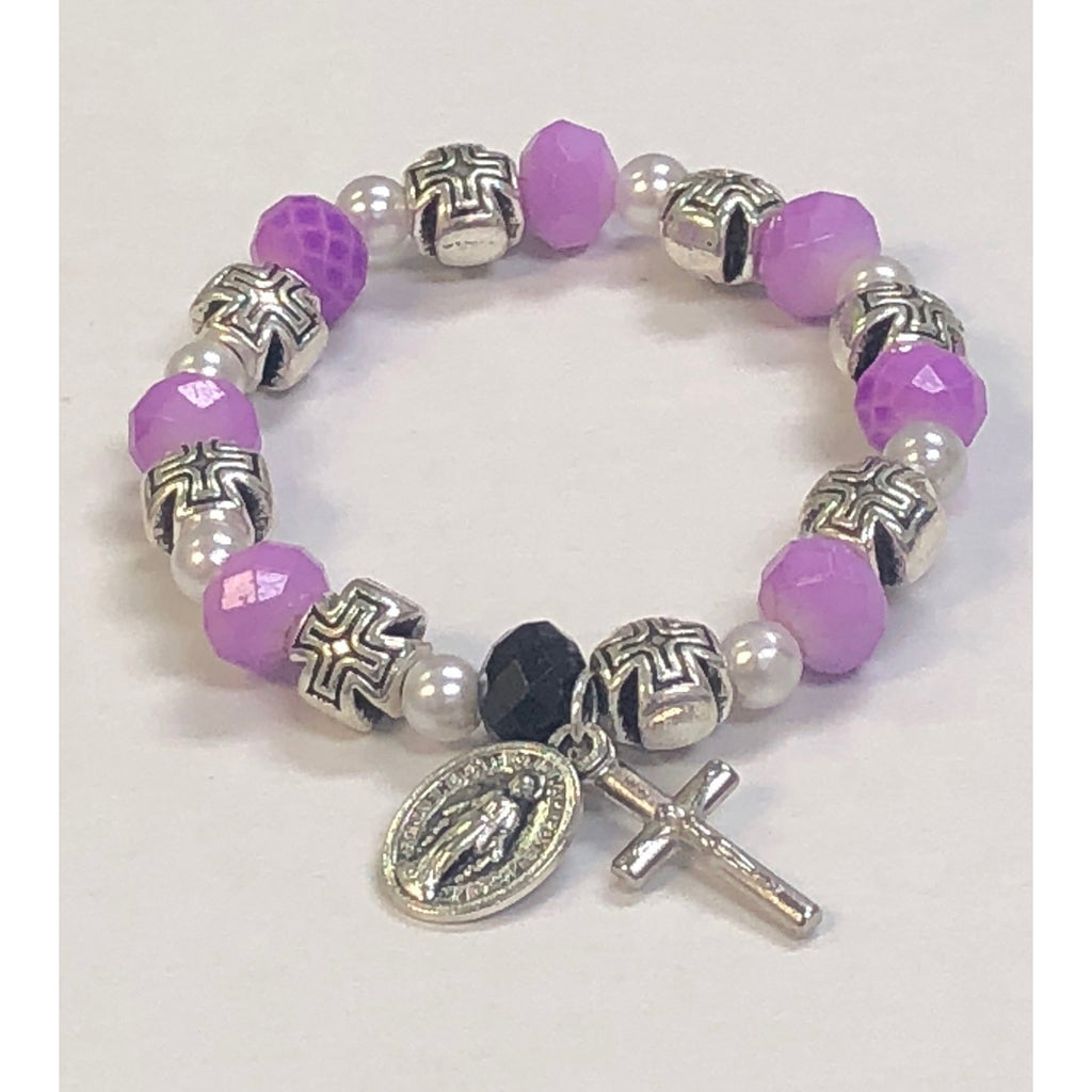 Children's Size Dusty Lavender Stretch Bracelet