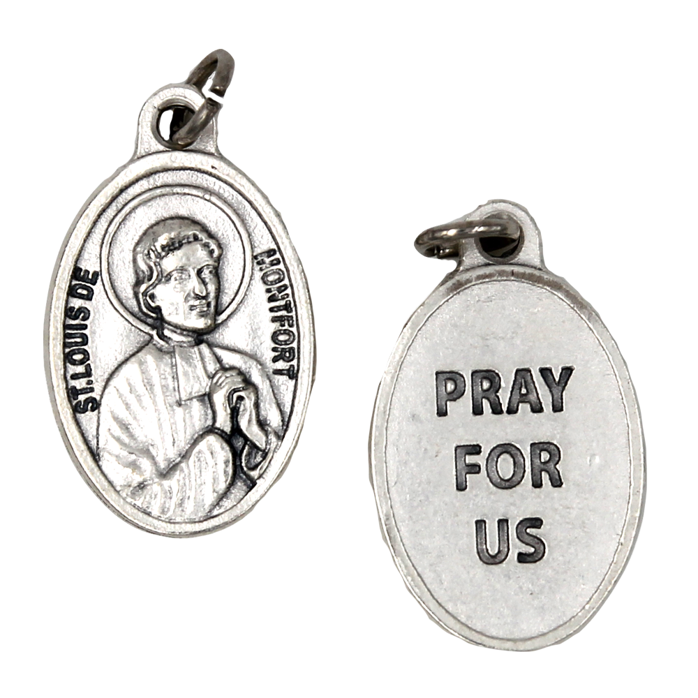 Saint Louis de Montfort Pray for us Medal - 4 Options