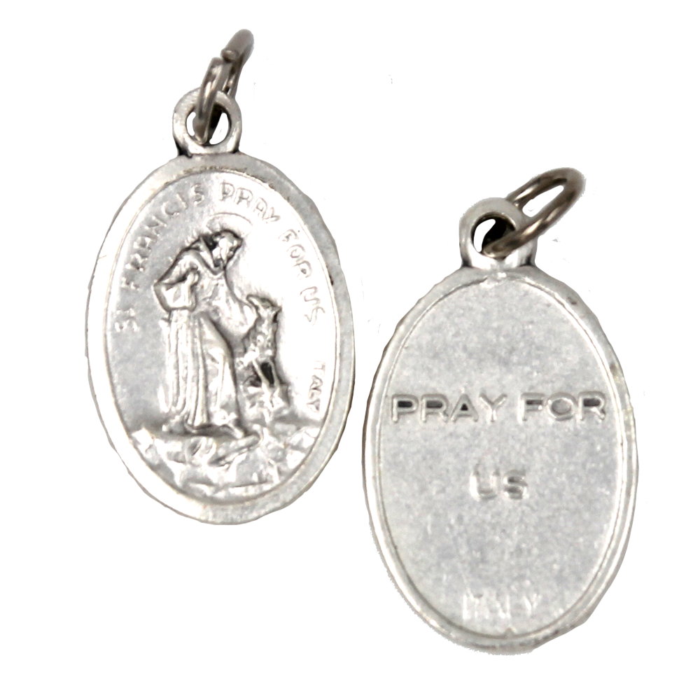 St. Francis Pray For Us Medal