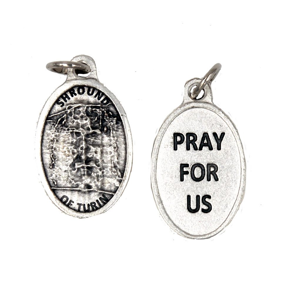 Shroud of Turin Pray for us Medal - 4 Options