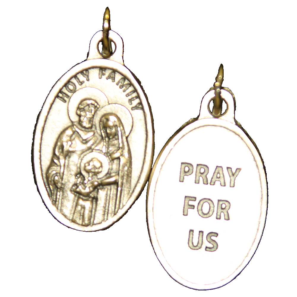 Holy Family Pray for Us Medal - 4 Options