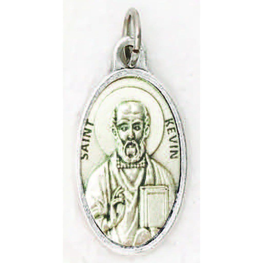 Saint Kevin Pray for Us Medal - 4 Options -