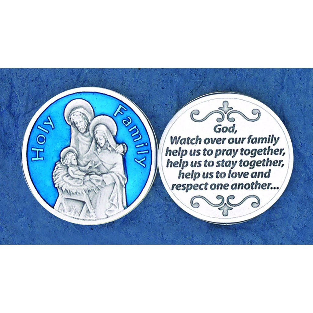 Enameled Token - Holy Family - Pack of 25