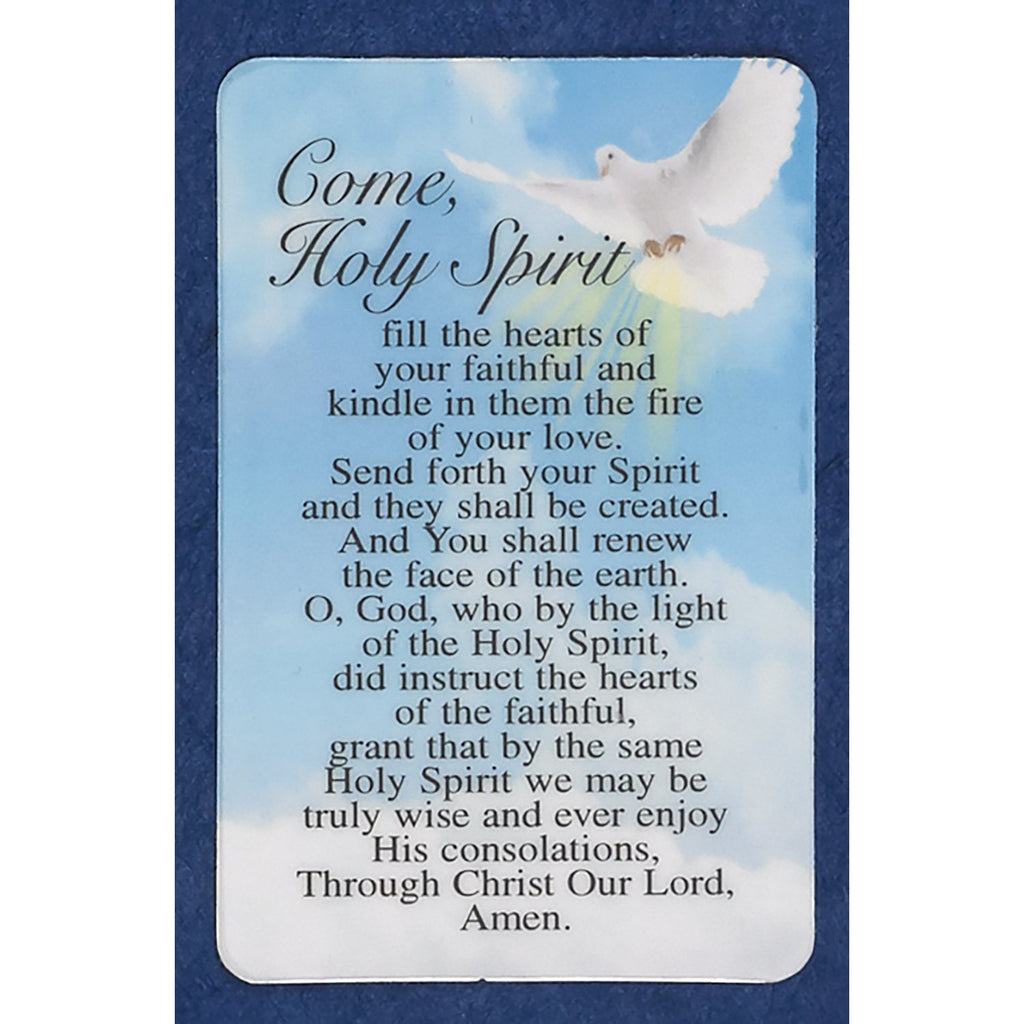 Come Holy Spirit Prayer Cards