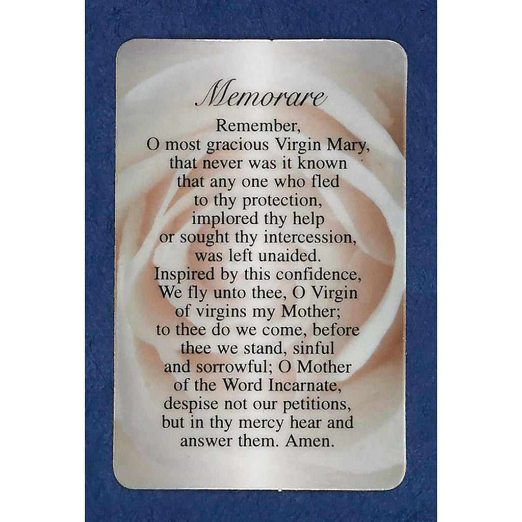 The Memorare Prayer Cards
