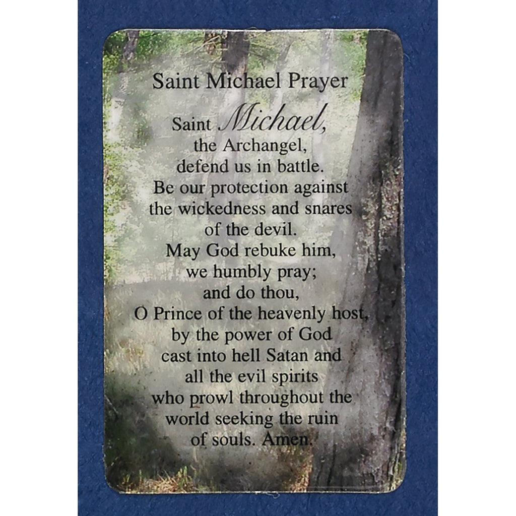 Saint Michael Prayer Cards