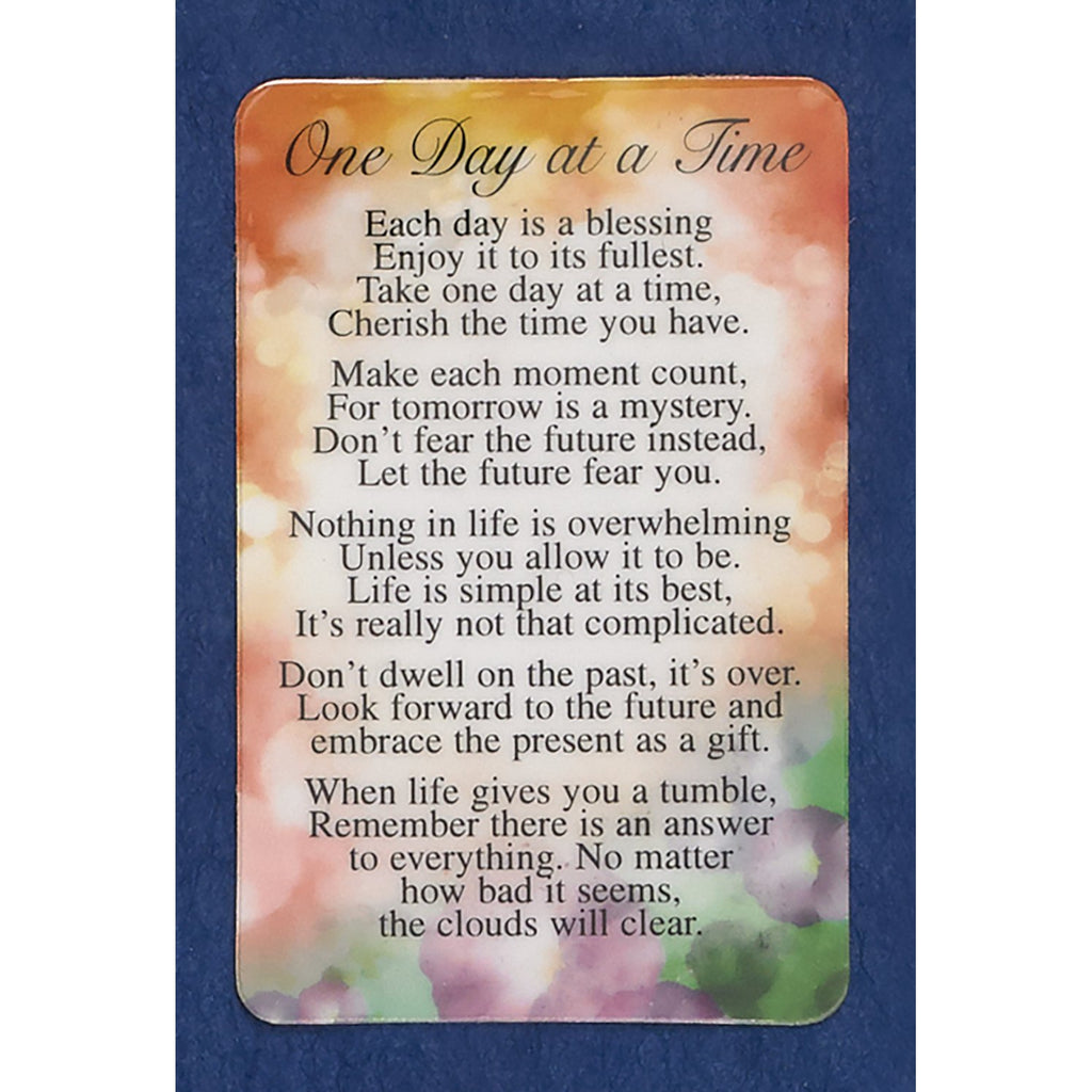 One Day at a Time Prayer Cards