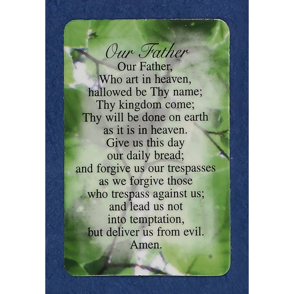 Our Father Prayer Cards
