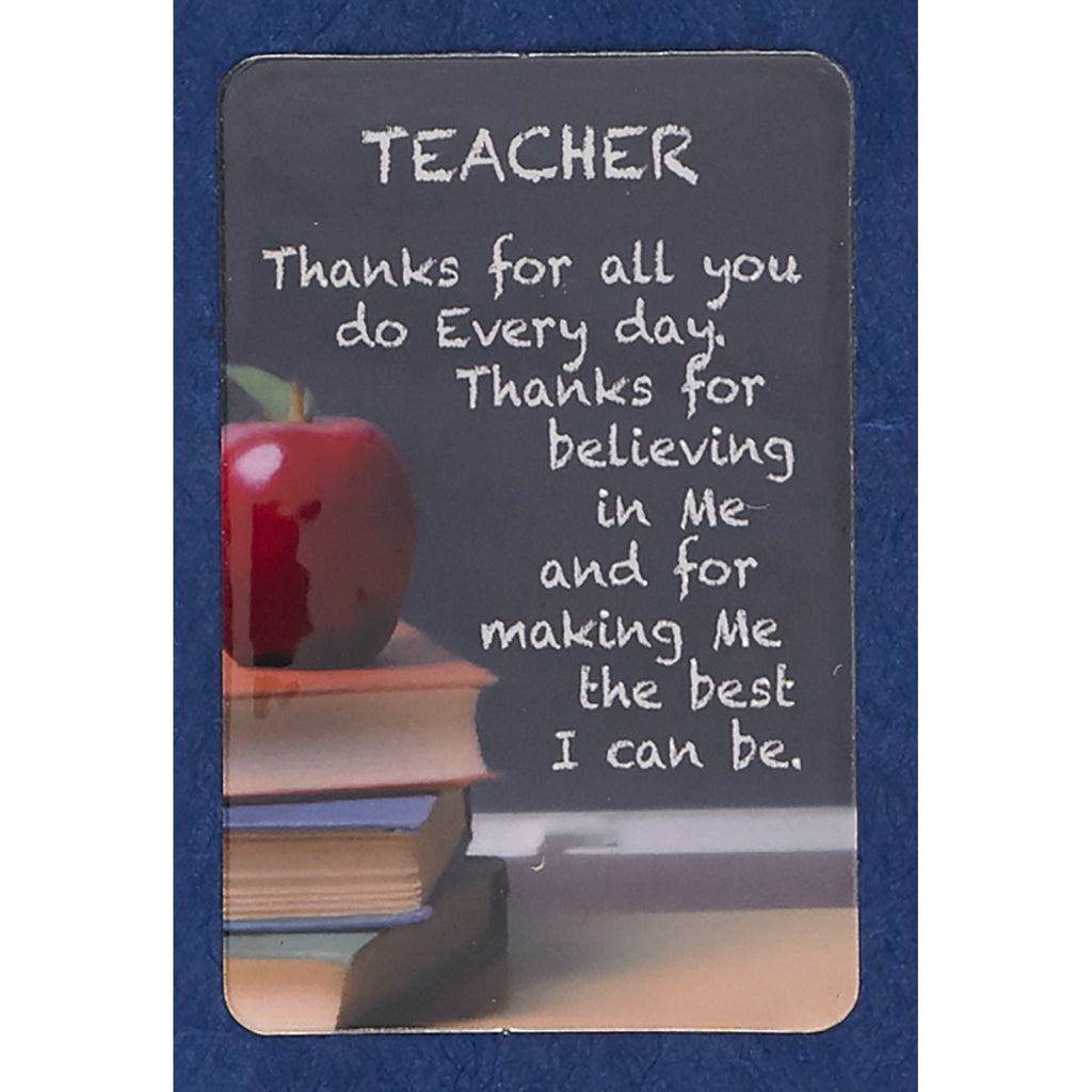 Teacher Prayer Cards