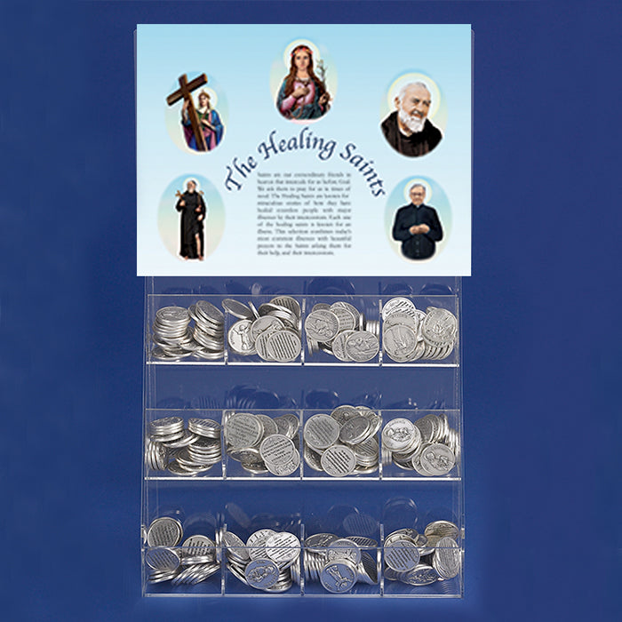 Free Healing Saints Display with the Purchase of Cards