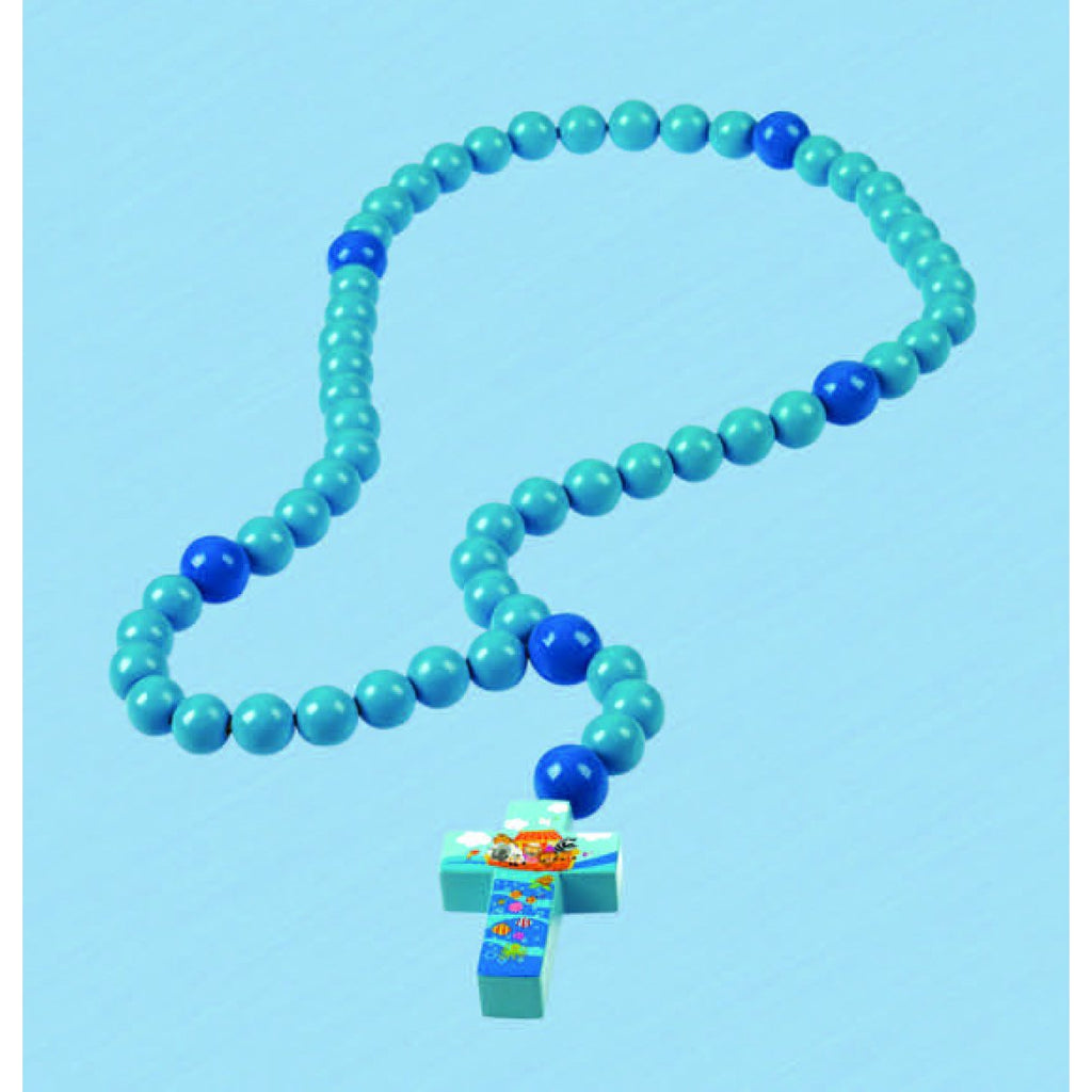 Blue Light of the World - Large Baby Rosary