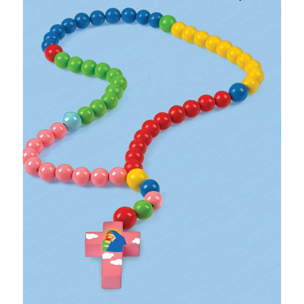 Colorful - Baby Rosary - Mary with Jesus