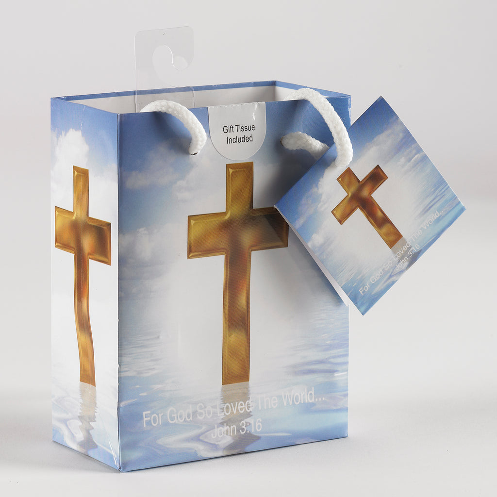 Religious Gift Bag - Pack of 12 - Small Bags