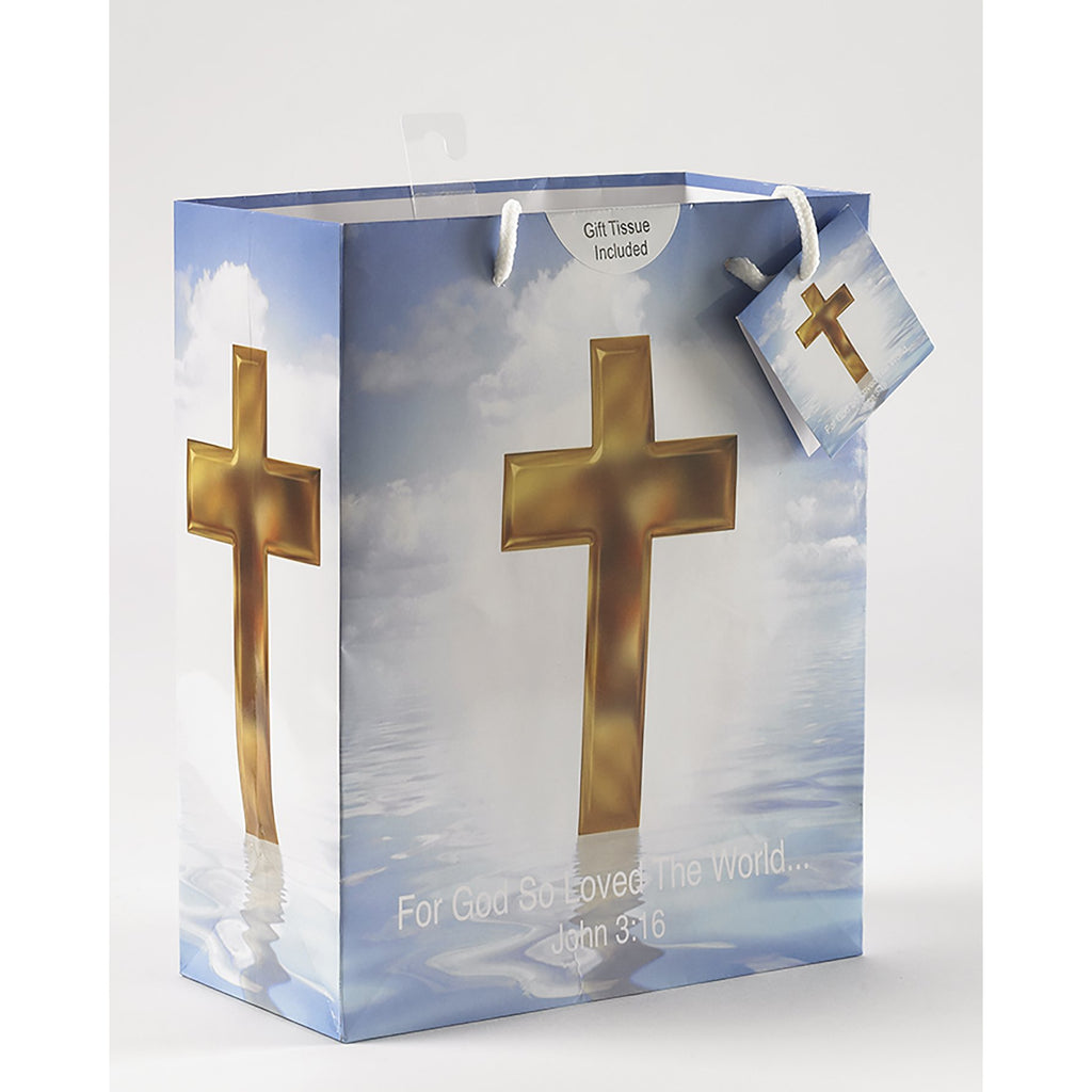 Religious Gift Bag - Large - Pack of 12