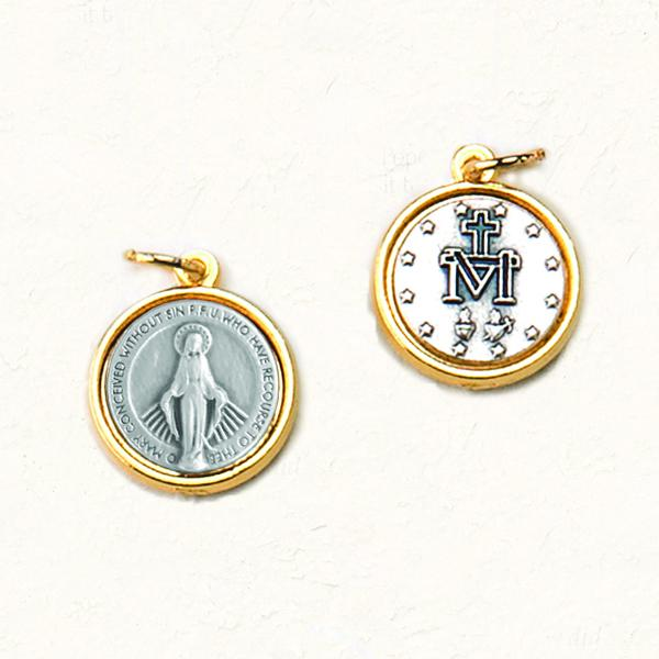 Double-sided, Two-tone Medals - Miraculous Medal