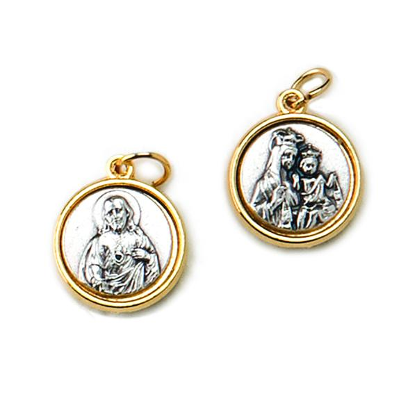 Double-sided, Two-tone Medals - Scapular Medal