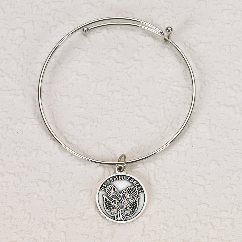 US Armed Forces Bangle Bracelet