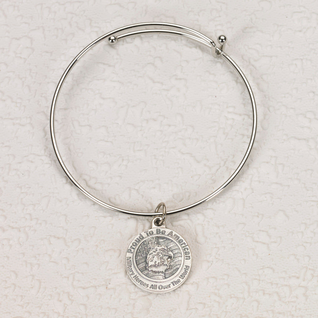 Proud to be American Bangle Bracelet