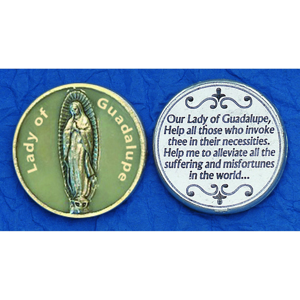 Lady of Guadalupe Glow in the Dark Tokens