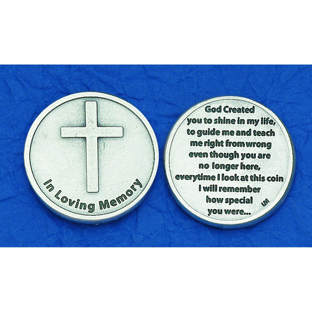 Italian Token - God Created You (Bereavement) - Pack of 25