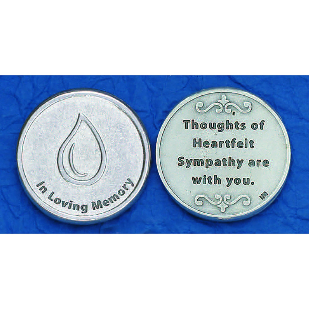 Italian Token - In Loving Memory - Pack of 25