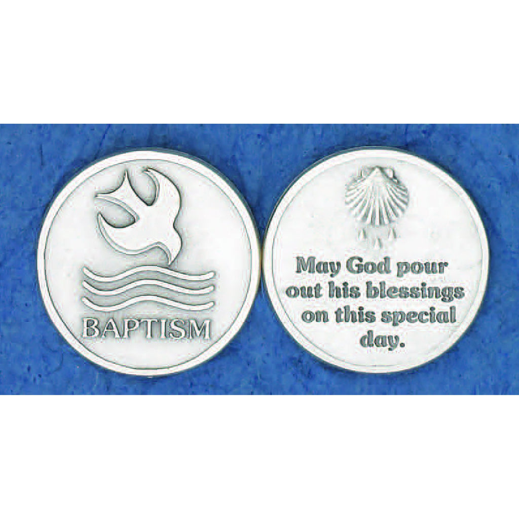 Sacrament Token - Baptism - Pack of 25