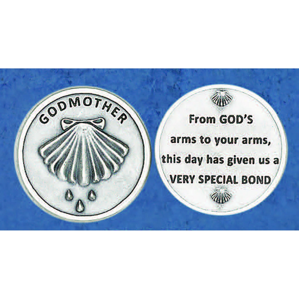Sacrament Token - Godmother - Pack of 25