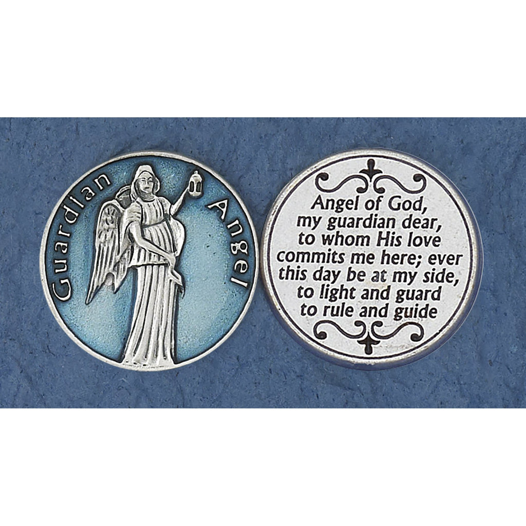 Enameled Token - Guardian Angel - Pack of 25