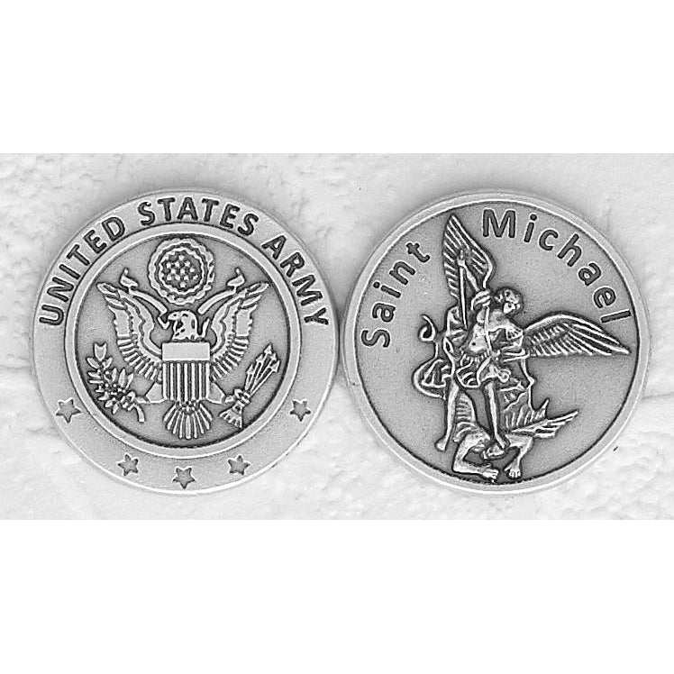 US Army / St. Michael Italian Token