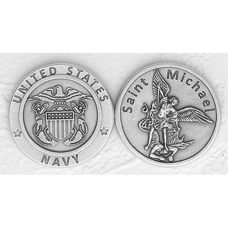 US Navy / St. Michael Italian Token