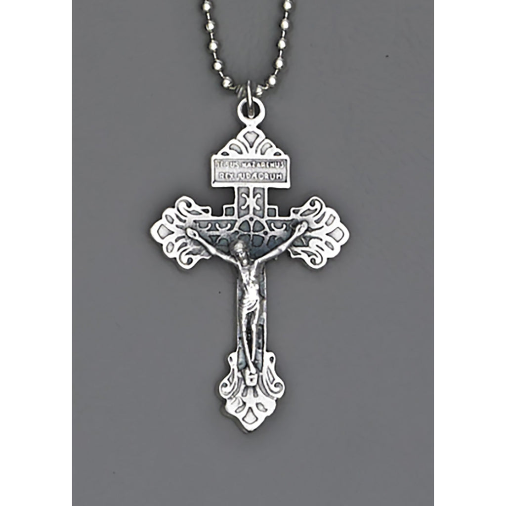 Auto Crosses - 1-1/2 INCH With 8 Inch Ball Chain - Pack of 4 - Pardon Cross