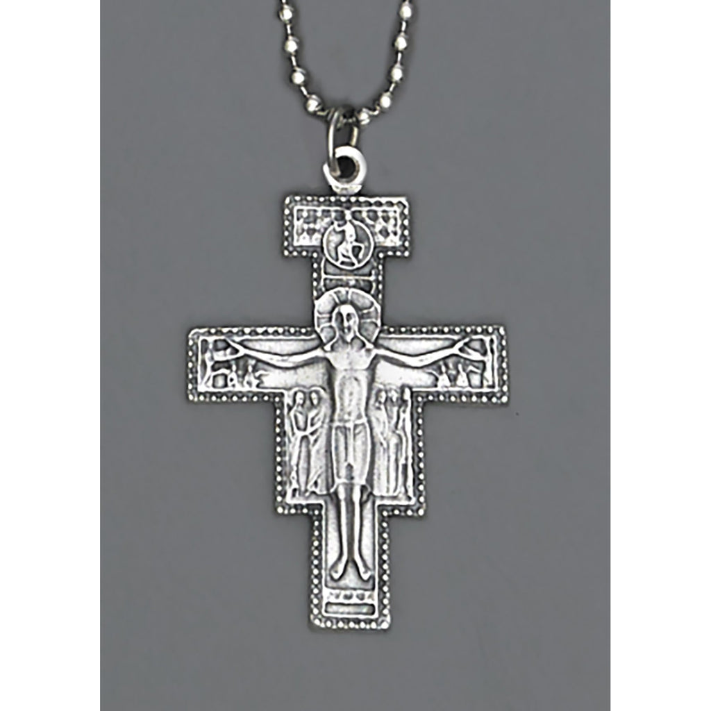 Auto Crosses - 1-1/2 INCH With 8 Inch Ball Chain - Pack of 4 - San Damiano