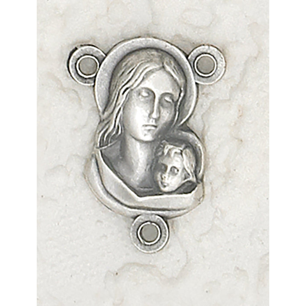 Blessed Mother Rosary Center - Pack of 25